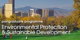 "Postgraduate programme ""Environmental Protection & Sustainable Development"""
